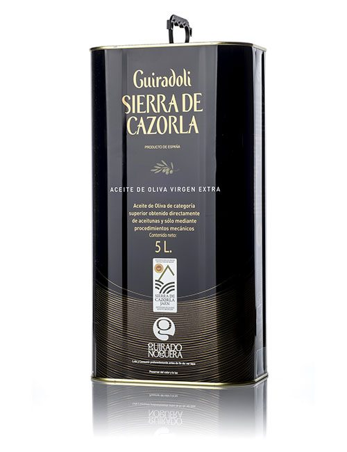 Guiradoli SIERRA CAZORLA – Picual | Caja 4 ud x 5 L