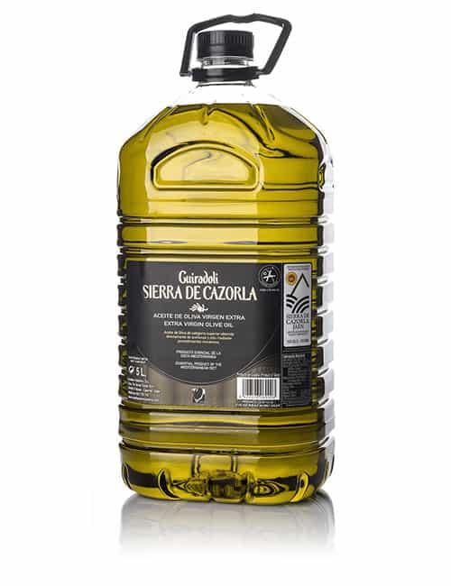 Guiradoli SIERRA CAZORLA – Picual | Caja 3 ud x 5 L