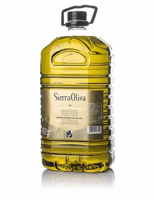 SIERRA OLIVA – Picual | Caja 3 ud x 5 l