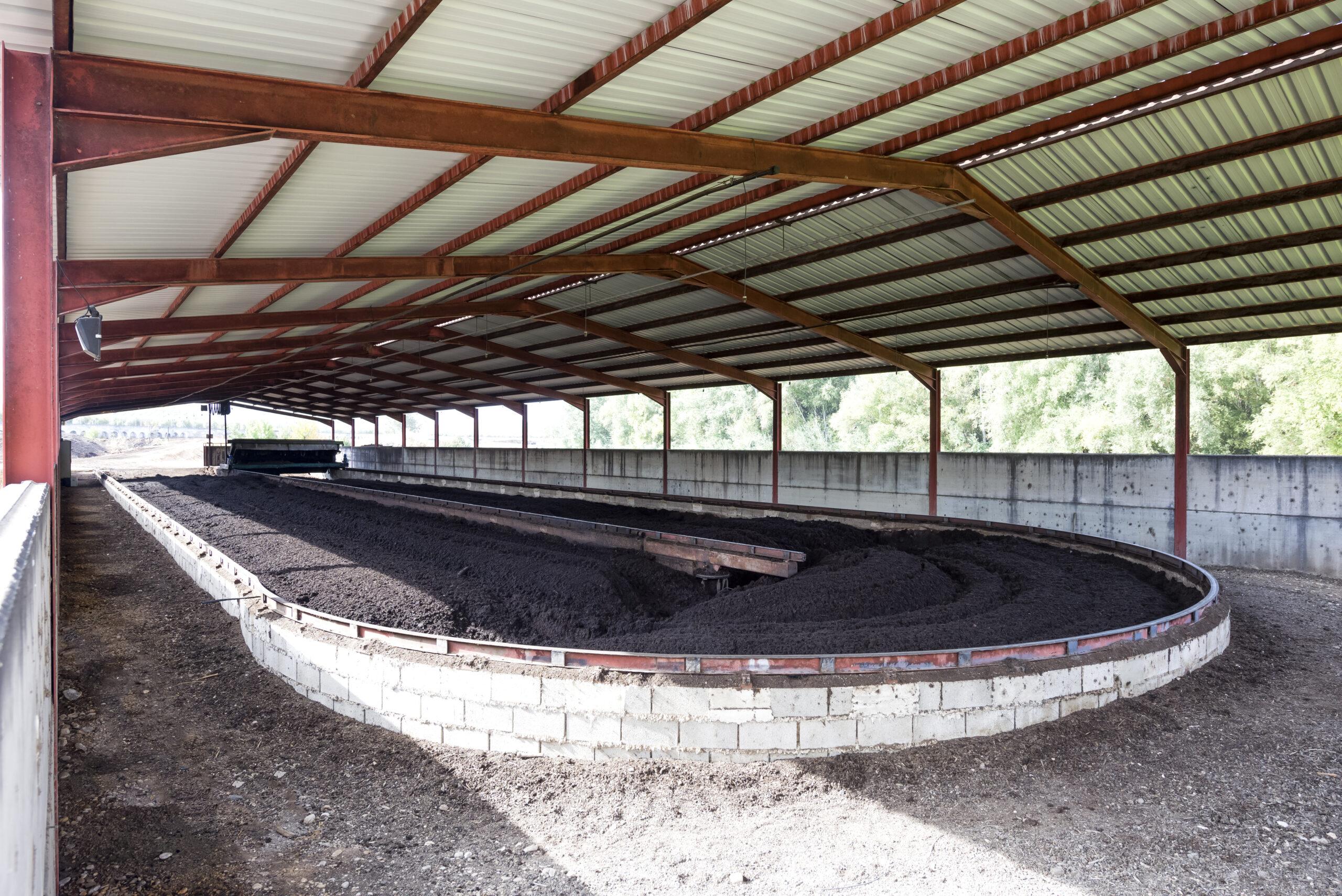Hacienda Vadolivo© almazara y compost planta de compostaje