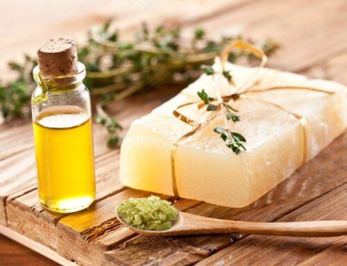 Jabón casero con aceite de oliva